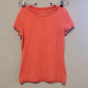 [GAP] Coral-colored Stretch Tee